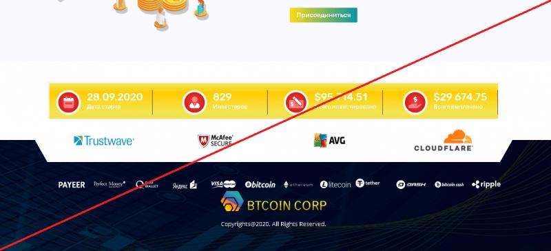 Btcoin Corp – Прибыльные инвестиции, доступные каждому. Реальные отзывы о btcoin-corp.com