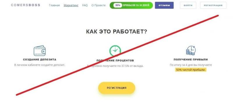 COMERSBOSS – инвестиции в криптовалюту? Реальные отзывы о проекте comersboss.com